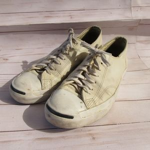 Converse Jack Purcell Leather Men's Size 11 White